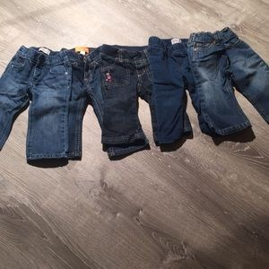 A lot of jeans 12-18 months
